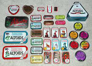 Old Altoid Tins