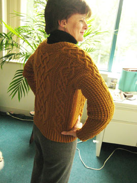 Aran Cardigan Finished B - Web
