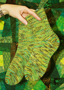 Imagination Frog Prince Socks - Web